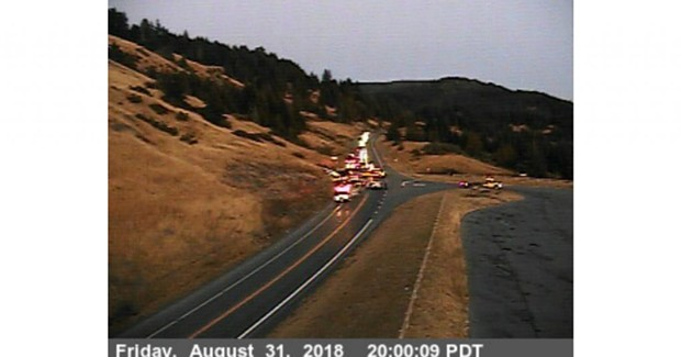 Berry Summit traffic cam. - CALTRANS