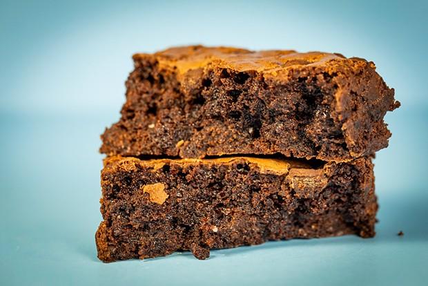 Fat, fudgy brownie goodness. - PHOTO BY SAM ARMANINO