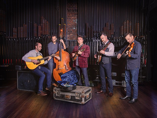 The Travelin' McCourys play Humboldt Brews on Wednesday, Nov. 28 at 9 p.m. ($30) - SUBMITTED