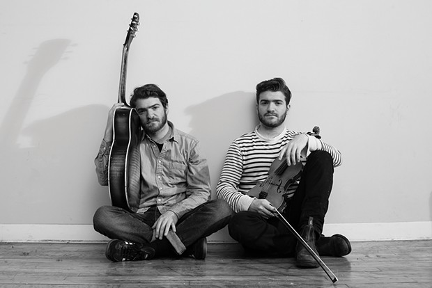 The Brother Brothers play the Old Steeple on Friday, Jan. 11 at 7:30 p.m. - PHOTO BY JUSTIN CAMERER, COURTESY OF THE ARTISTS