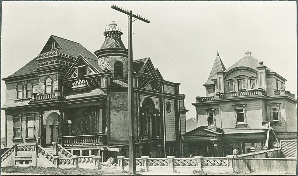 "Bernau's ""Dutch Castle."" - COURTESY OF THEHUMBOLDTPROJECT.ORG."