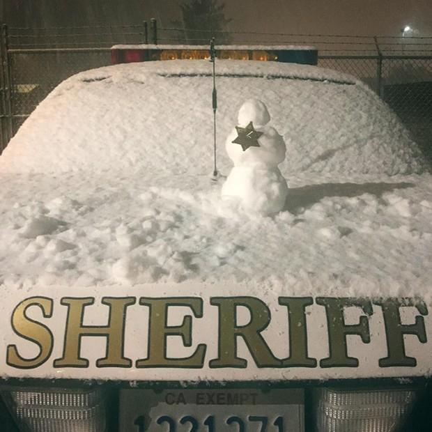 Deputies at the McKinleyville substation got in the spirit. - HCSO