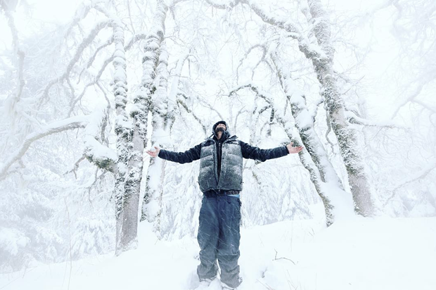 Enjoying the landscape blanketed in snow. - @RYANJOHNSONBITAR VIA INSTAGRAM