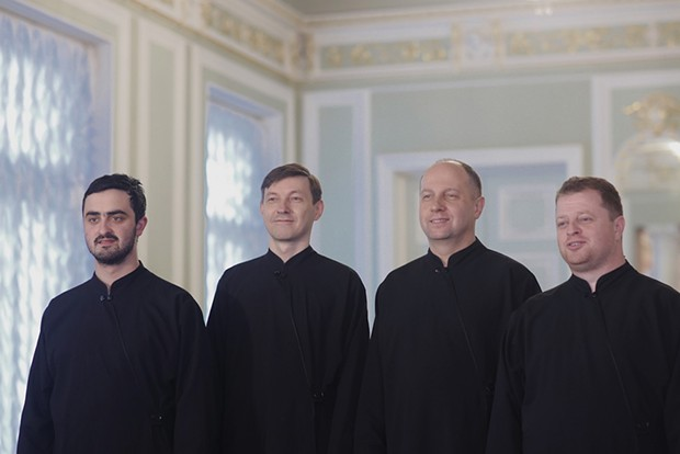 Konevets Quartet sings devotional music and Slavic folk tunes at St. Innocent Orthodox Church on Thursday, Feb. 14 at 7 p.m. - COURTESY OF THE ARTISTS