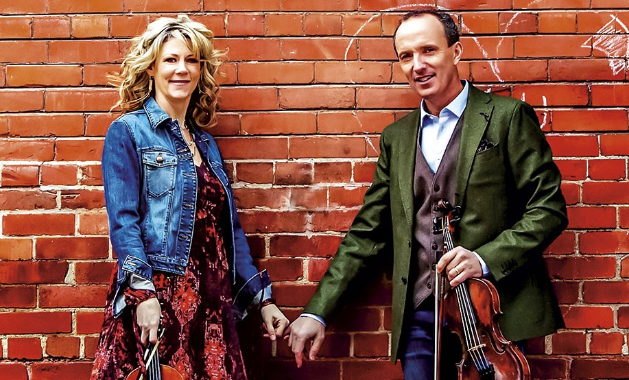 Natalie MacMaster and Donnell Leahy - COURTESY OF THE ARTISTS
