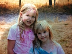Leia (left) and Caroline Carrico. - SUBMITTED