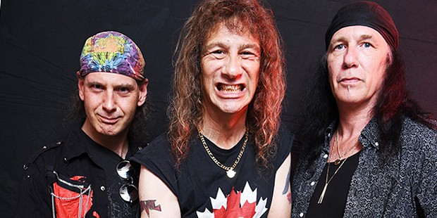 Anvil plays the Jam at 6:30 p.m. on Monday, April 8. - COURTESY OF THE ARTISTS