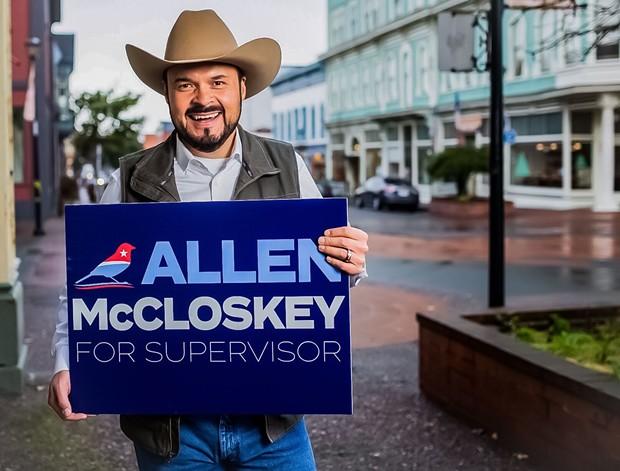 Allen McCloskey - MCCLOSKEY FOR SUPERVISOR, FACEBOOK