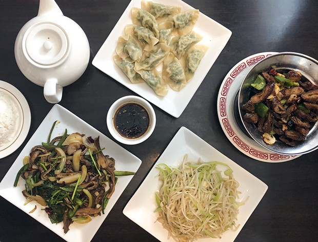 Familiar flavors from Szechuan Garden's not-so-secret menu. - PHOTO BY JENNIFER FUMIKO CAHILL