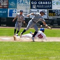 Damian Henderson slides past an errant throw in Sunday's game. - MATT FILAR