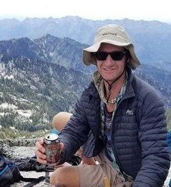 Daniel Komins sent this photo to his girlfriend Sunday from the top of Thompson Peak in northern Trinity County. The last time he was seen was Monday morning as he headed to L Lake. - TRINITY COUNTY SHERIFF'S OFFICE
