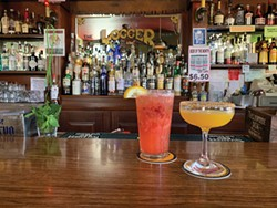 The Logger Bar's Sober Logger and Turmeric Tonic. - PHOTO BY JENNIFER SAVAGE