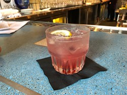 """Life is a bowl of Luxardo cherries. The """"zero-proof"""" Madeline at Five Eleven. - PHOTO BY JENNIFER SAVAGE"""