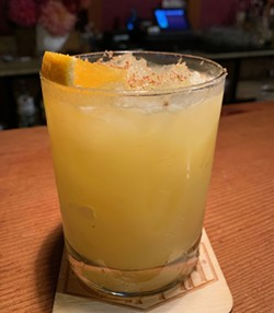 The tropical Smooth Criminal at the Griffin. - PHOTO BY TK