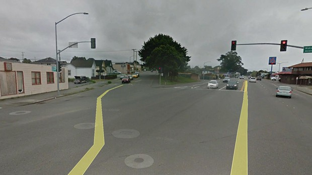 The intersection of Fairfield and Wabash. - CALTRANS