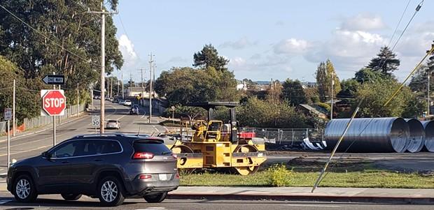 Major construction begins Monday on Myrtle Avenue. - CITY OF EUREKA