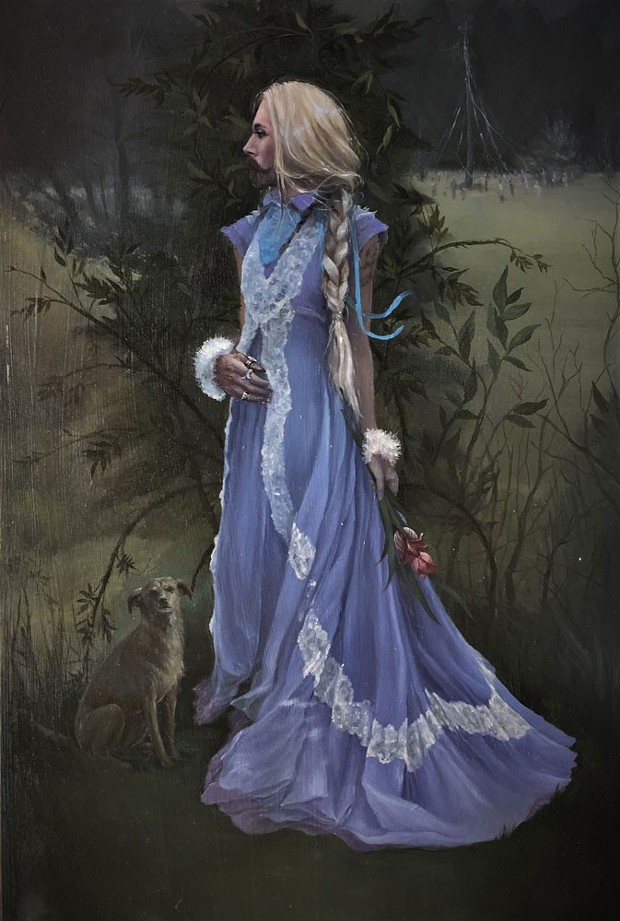 """""""Dusk at Beltaine"""" by Therin Brooks. - COURTESY OF THE ARTIST"""