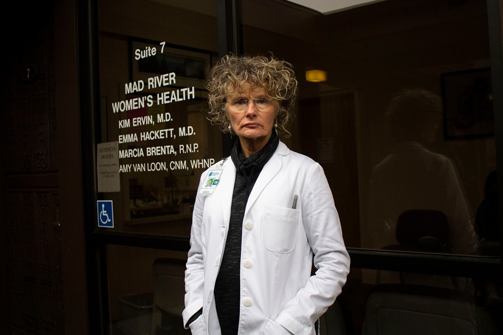Kim Ervin, now of Open Door Community Health Centers, has worked as a local OBGYN for 30 years. - PHOTO BY THOMAS LAL