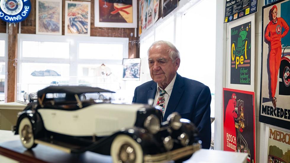 Carl Schneider of Carl's Car World. - ZACH LATHOURIS