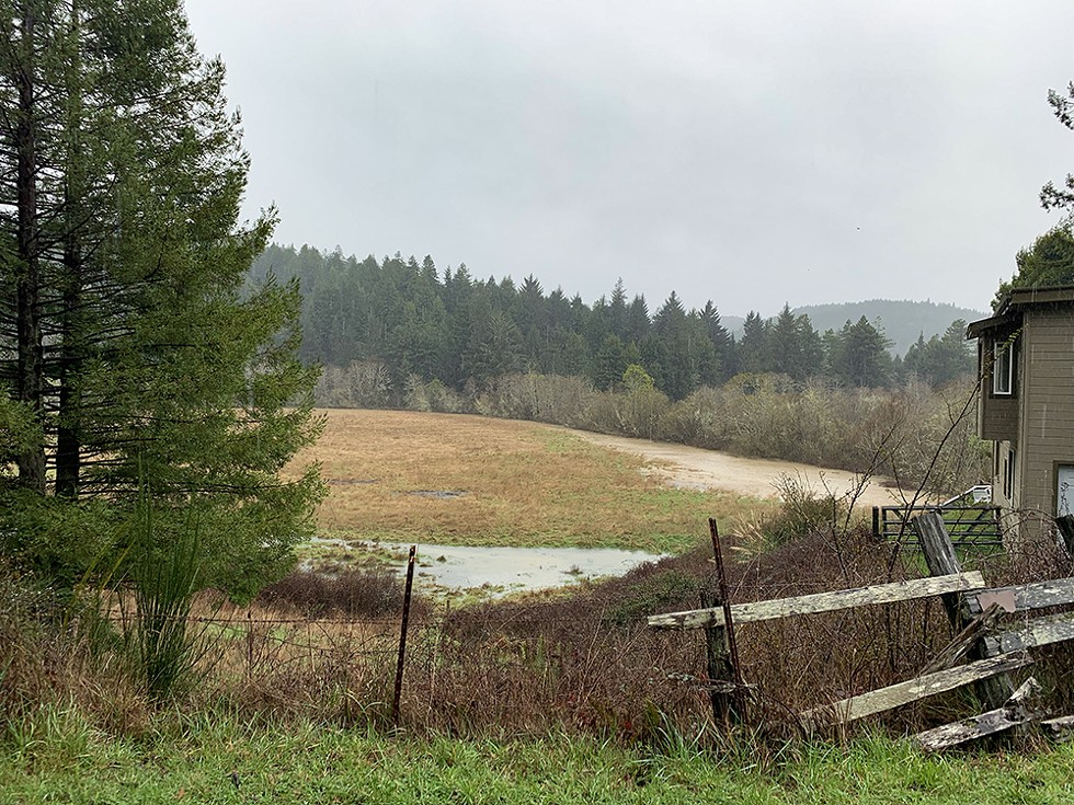 Flooding has been a persistent problem in the heavily silted Elk River Watershed for decades. - PHOTO BY ANGELA TELLEZ