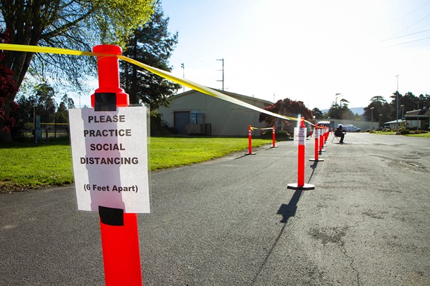 The Redwood Acres testing site. - COUNTY OF HUMBOLDT