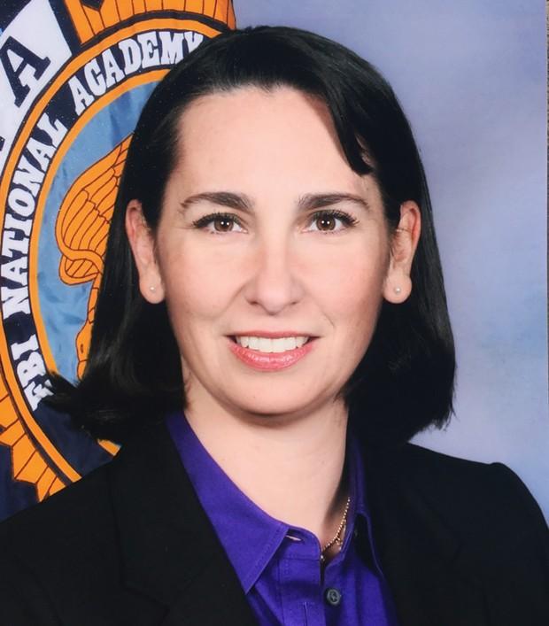 Christina Lofthouse, Interim Chief of HSU Police - SUBMITTED