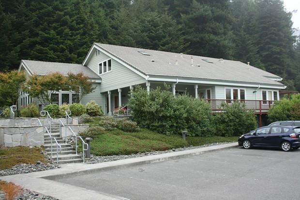 Humboldt Area Foundation HQ in Bayside. - PHOTOS BY BOB DORAN