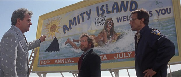 Broadway and Mill Creek theaters plan to open Friday, June 12 with the 1975 movie 'Jaws,' among others. - JAWS