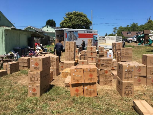 Officers seize fireworks from Eureka home. - SUBMITTED
