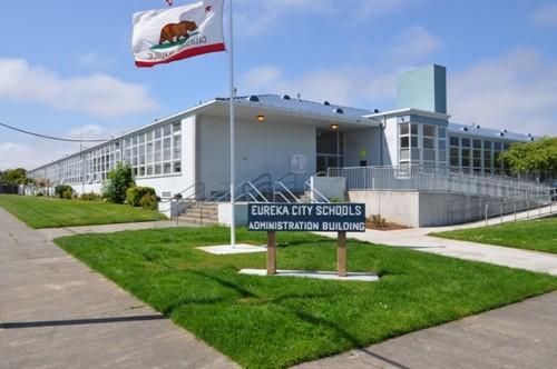 Eureka City Schools' main office. - FILE