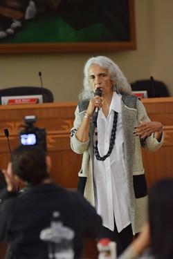 Yurok Chief Justice Abby Abinanti. - COURTESY OF THE YUROK TRIBE