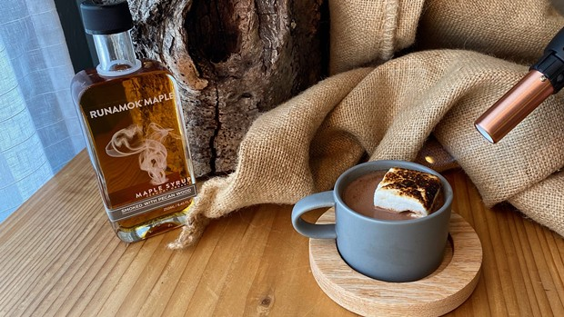 The Campfire sipping chocolate. - SUBMITTED
