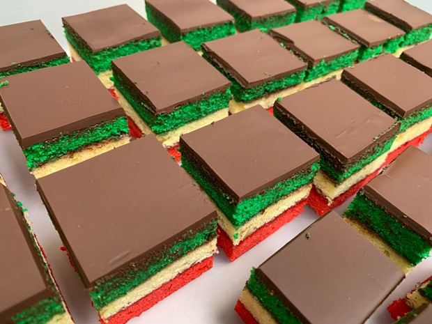 Taste the rainbow cookies. - SUBMITTED