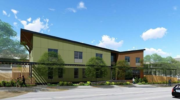 Visual design for the Providence Eureka House - ST. JOSEPH HEALTH