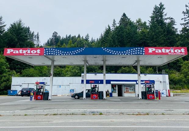 Patriot Gas Station - FILE