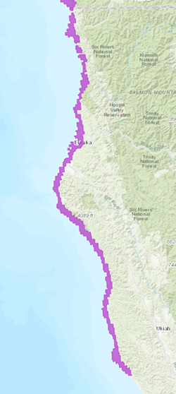 High Surf Advisory issued for most of Northern California's coastal areas. - NWS EUREKA
