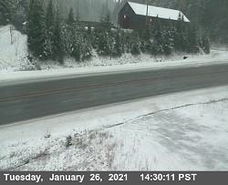Berry Summit looking south. - CALTRANS