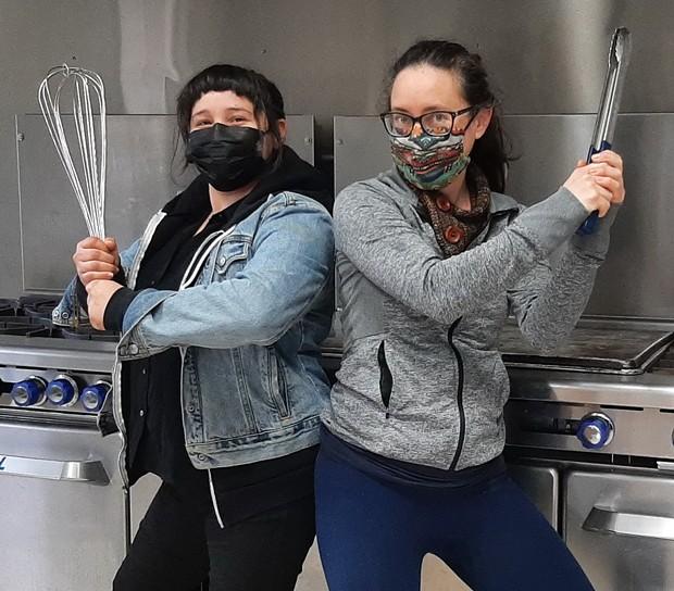 Chefs Casandra Kelly and Rachael Patton. - PHOTO CREDIT CAROLYN JONES