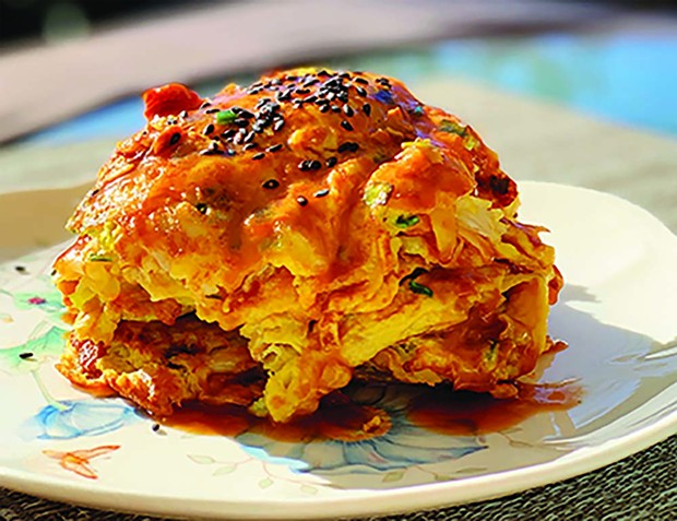 The Krusty Krab has nothing on classic egg foo yung with Dungeness. - PHOTO BY WENDY CHAN