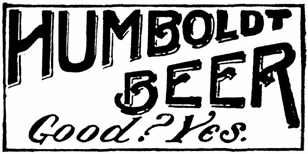 Humboldt County Brewing Company advertisement in the Eureka Herald on 12/30/1908. - HUMBOLDT COUNTY HISTORICAL SOCIETY