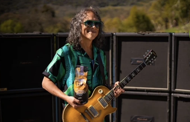 Kirk Hammett - FROM MUDDY WATERS COFFEE CO. WEBSITE