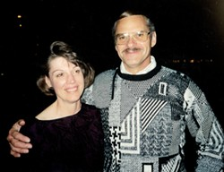 Judy and Dick Magney around the time they met in 1992. - PHOTO COURTESY OF JUDY MAGNEY