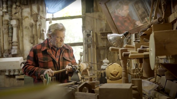 A shot of Eric Hollenbeck in The Craftsman. - COURTESY OF MAGNOLIA NETWORK