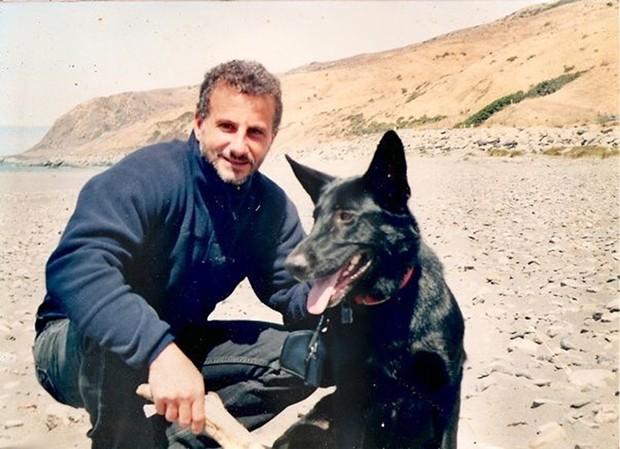 Richard Guadagno with Raven. - PHOTO COURTESY OF DIQUI LAPENTA