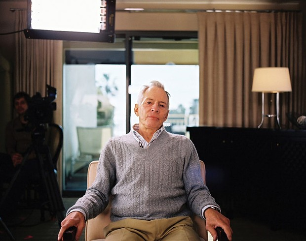"""Robert Durst in the documentary """"The Jinx: The Life and Deaths of Robert Durst."""" - COURTESY OF HBO"""