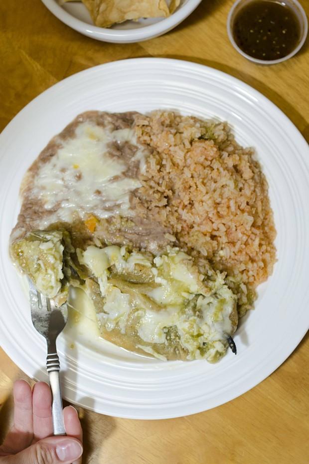 Pachanga's does not skimp on cheese. - DREW HYLAND