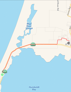 The route. (Real athletes, scoff. Go ahead.)