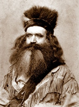 Seth Kinman, mountain man, furniture builder, killer of Native Americans, has a pond named after him. - ONLINE ARCHIVE OF CALIFORNIA