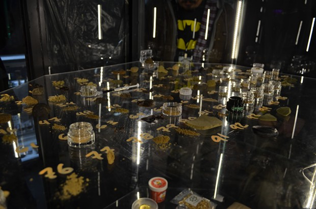 Medical marijuana concentrates at the 2014 Emerald Cup. - GRANT SCOTT-GOFORTH