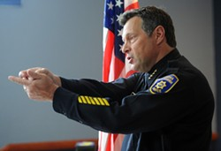 Eureka Police Chief Andy Mills. - MARK MCKENNA